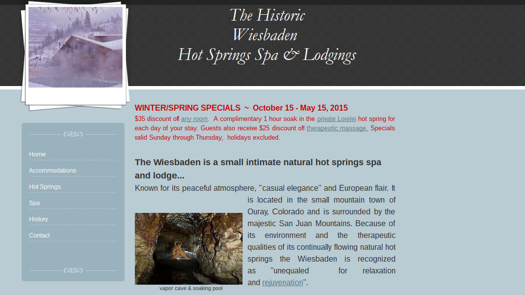 Wiesbaden Hot Springs Spa & Lodging