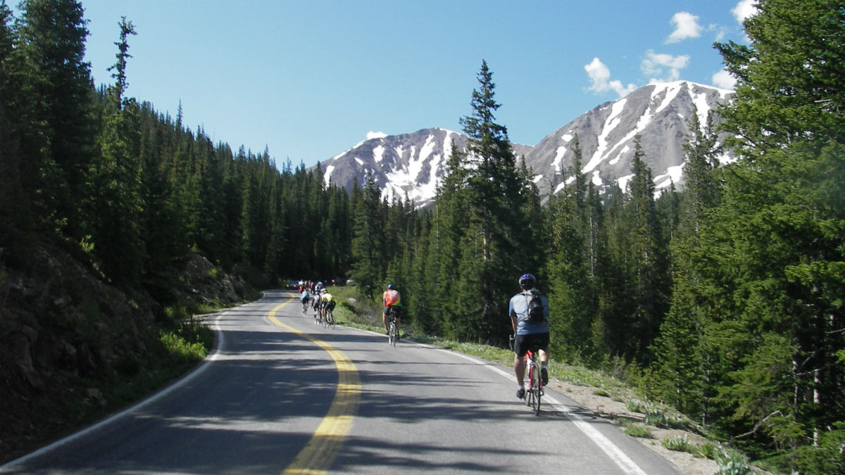 Ride the Rockies comes to Ridgway Colorado