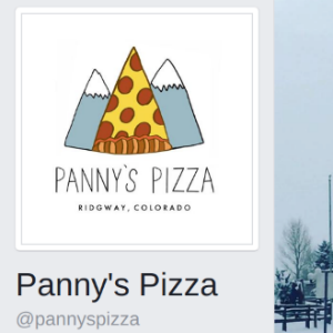 Panny's Pizza Ridgway Colorado